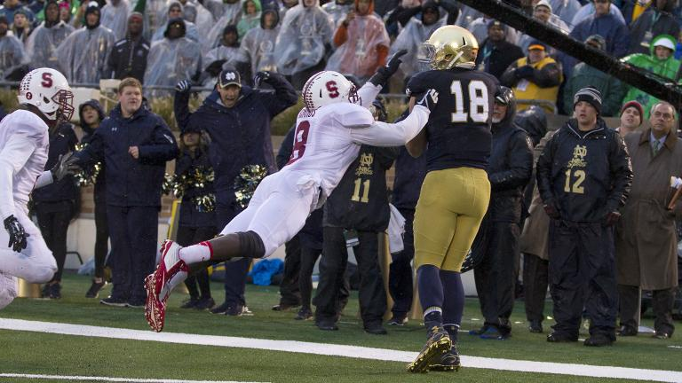 (9) Notre Dame 17, (14) Stanford 14