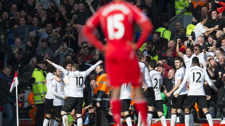 Manchester United 2, Liverpool 1