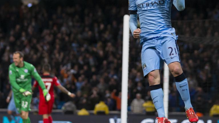 Manchester City 2, Leicester City 0