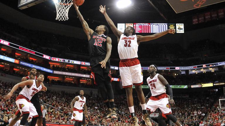 NC State 74, (9) Louisville 65