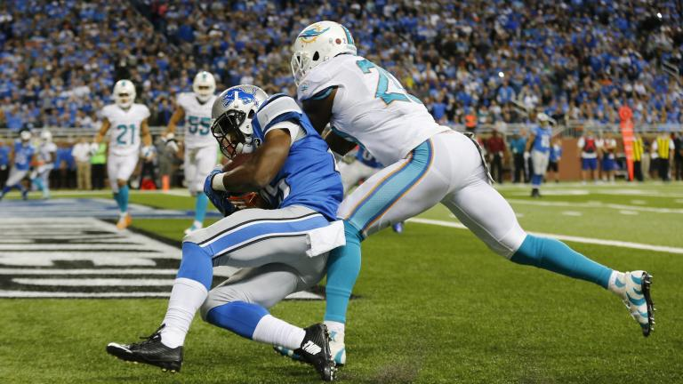 Lions 20, Dolphins 16