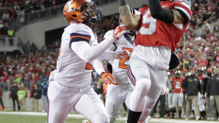 (13) Ohio State 55, Illinois 14