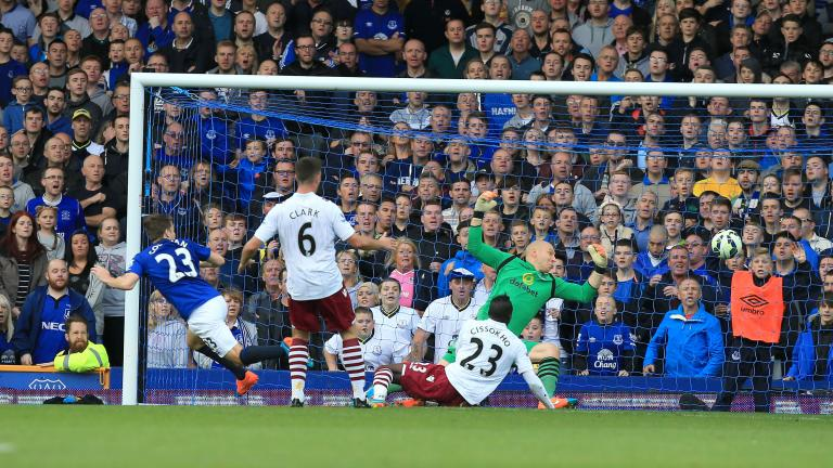 Everton 3, Aston Villa 0