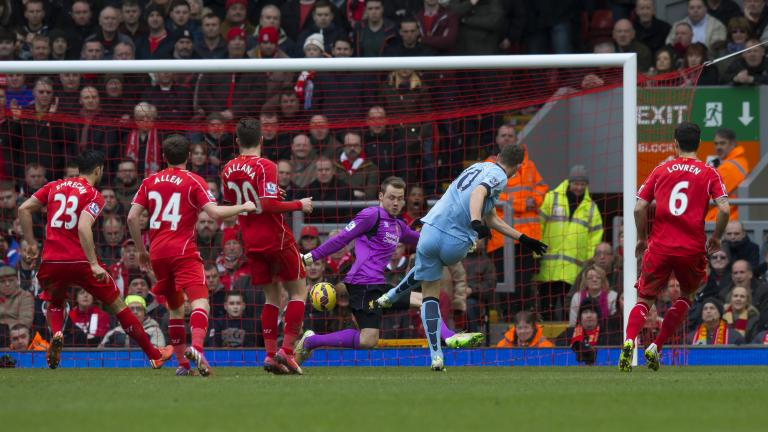 Liverpool 2, Manchester City 1
