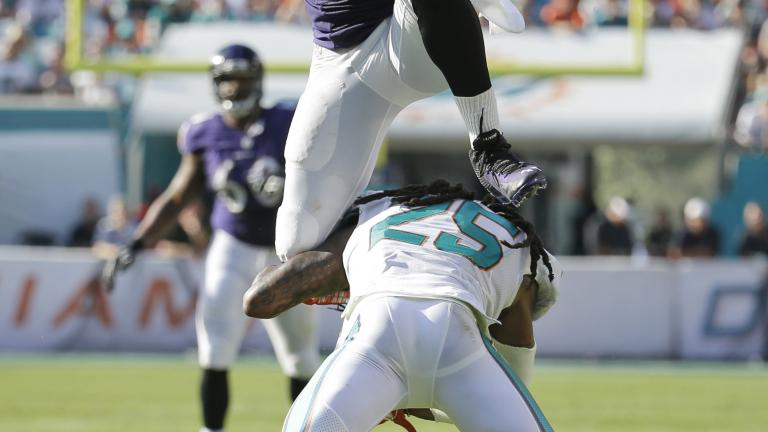 Ravens 28, Dolphins 13