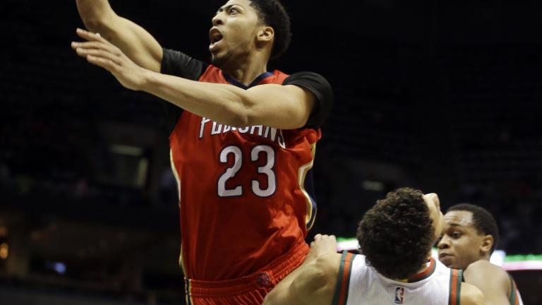 Anthony Davis' 43 propel Pelicans to victory