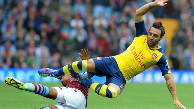 Arsenal 3, Aston Villa 0