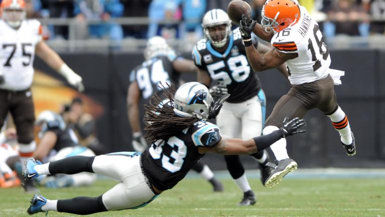 Panthers 17, Browns 13