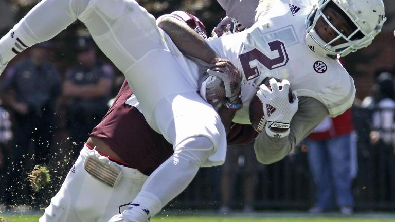 (6) Texas A&M 48, (12) Mississippi State 31