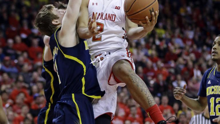(14) Maryland 66, Michigan 56