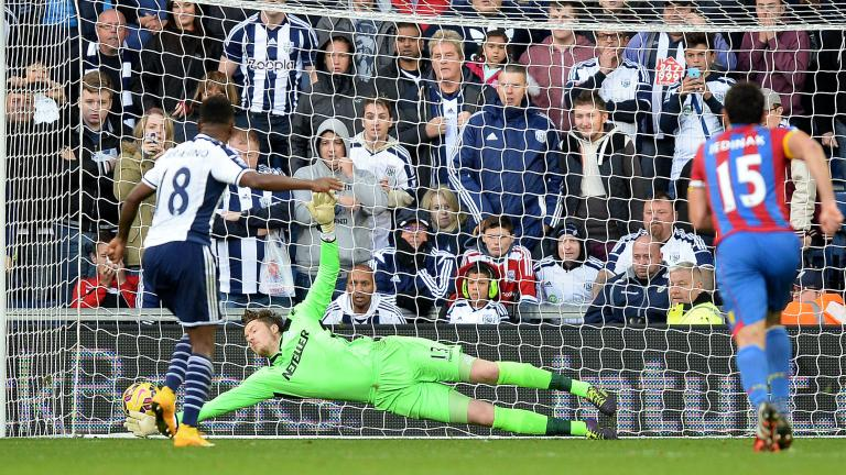 Crystal Palace 2, West Bromwich Albion 2