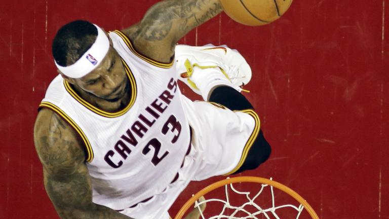 LeBron James, Cavaliers finding stride