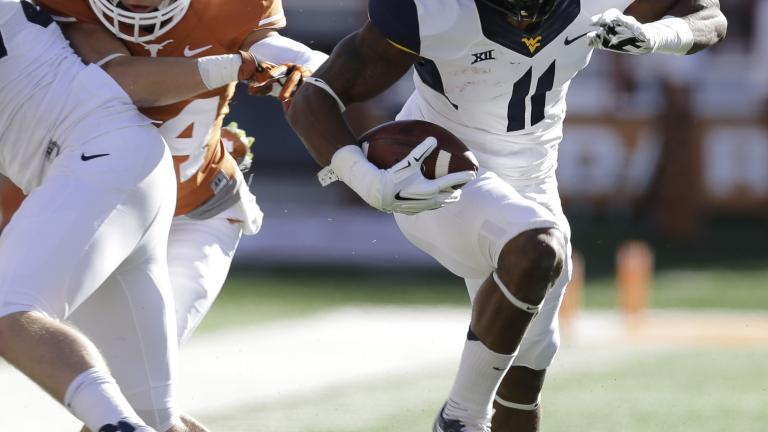 Texas 33, (23) West Virginia 16