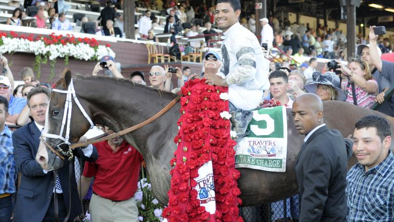 Will Take Charge wins the 2013 Travers Stakes
