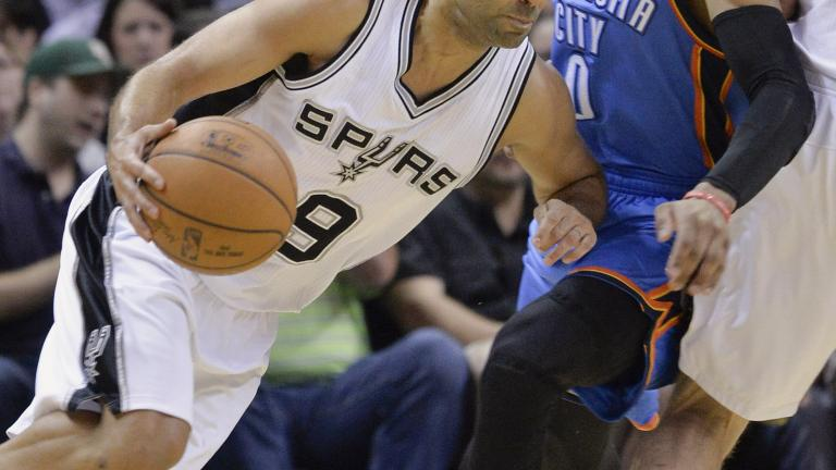 Spurs rout Thunder by 39 points