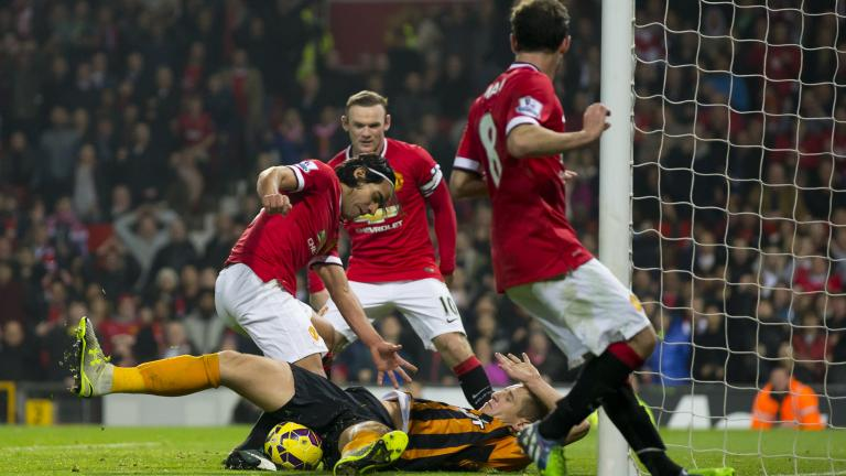 Manchester United 3, Hull City 0