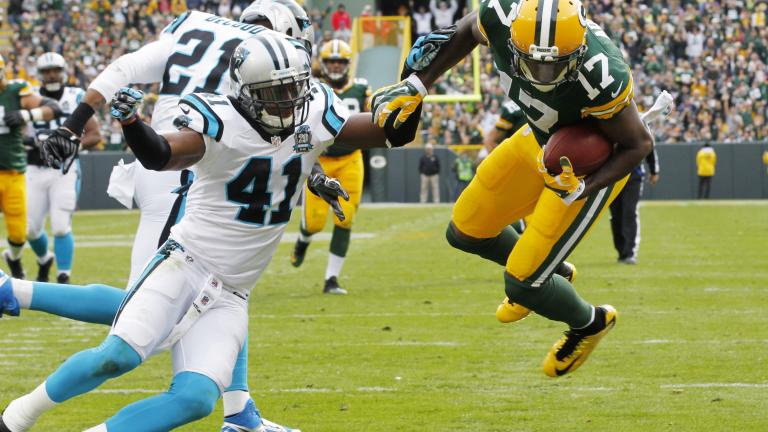 Packers 38, Panthers 17