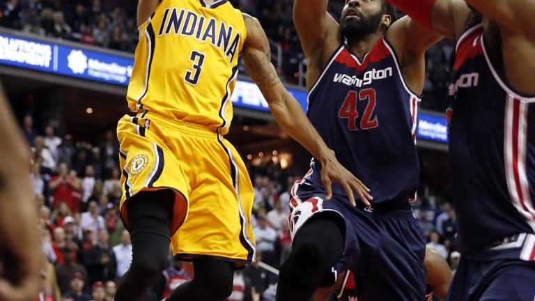 George Hill's late layup gives Pacers victory over Wizards