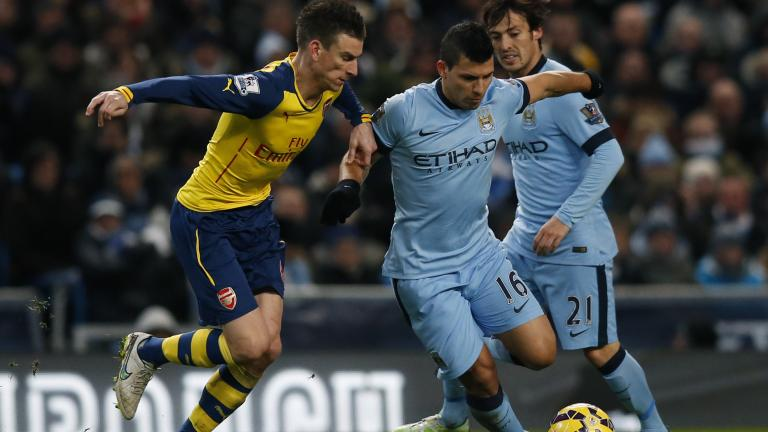 Arsenal 2, Manchester City 0