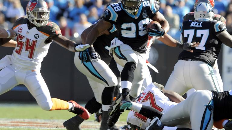 Panthers 19, Buccaneers 17