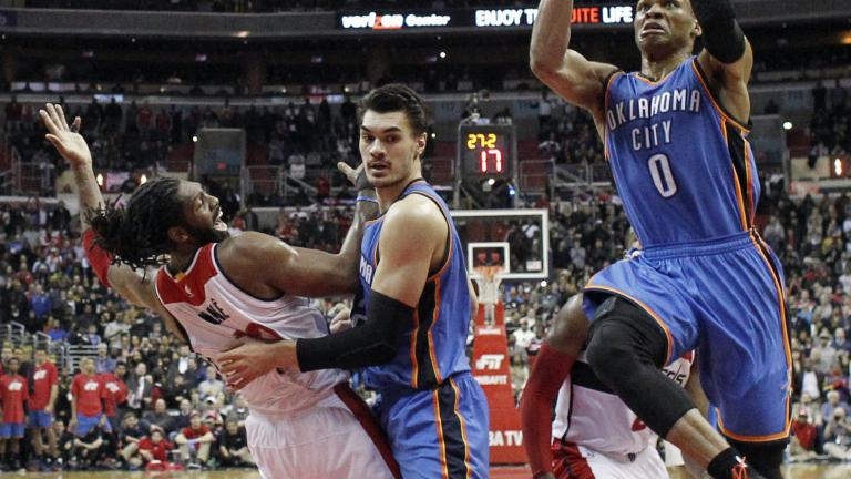 Russell Westbrook, Kevin Durant push Thunder past Wizards
