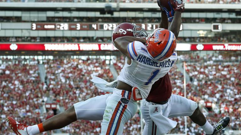 (3) Alabama 42, Florida 21