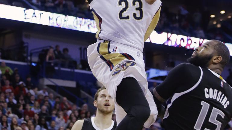 Pelicans beat Kings as Anthony Davis and DeMarcus Cousins face off