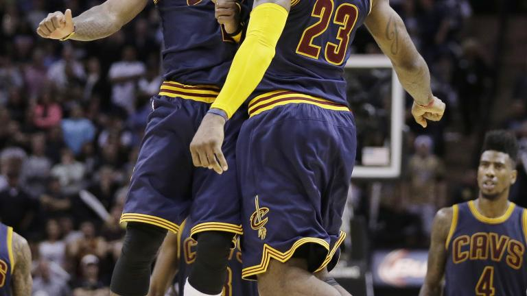 Kyrie Irving's 57 points help Cavs beat Spurs in overtime thriller
