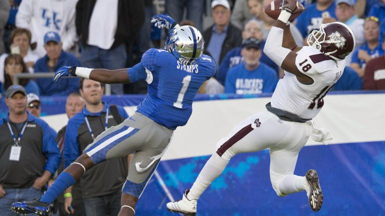 (1) Mississippi State 45, Kentucky 31