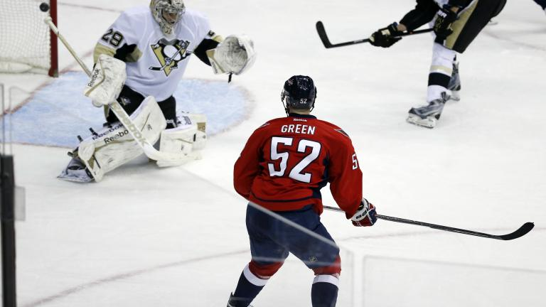 Capitals 4, Penguins 0