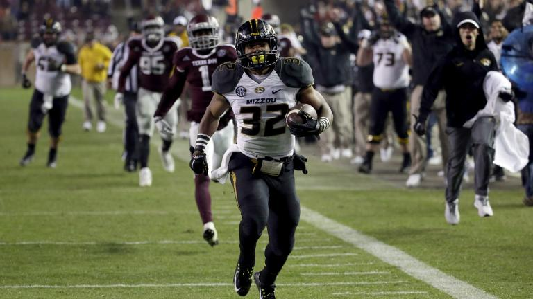 Missouri 34, (24) Texas A&M 27