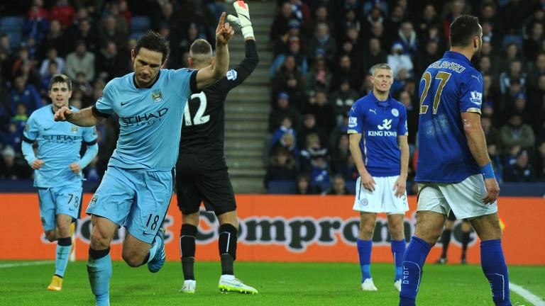 Manchester City 1, Leicester City 0