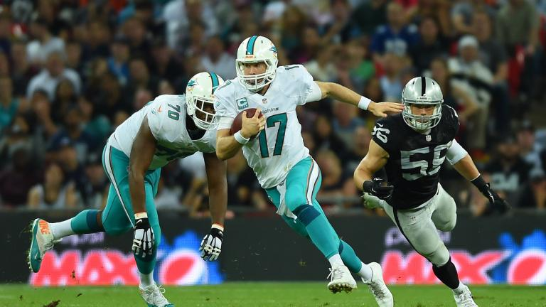 Dolphins 38, Raiders 14