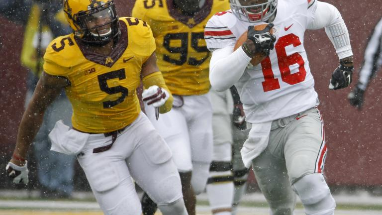 (8) Ohio State 31, (25) Minnesota 24