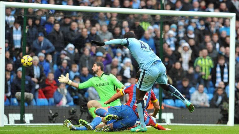 Manchester City 3, Crystal Palace 0