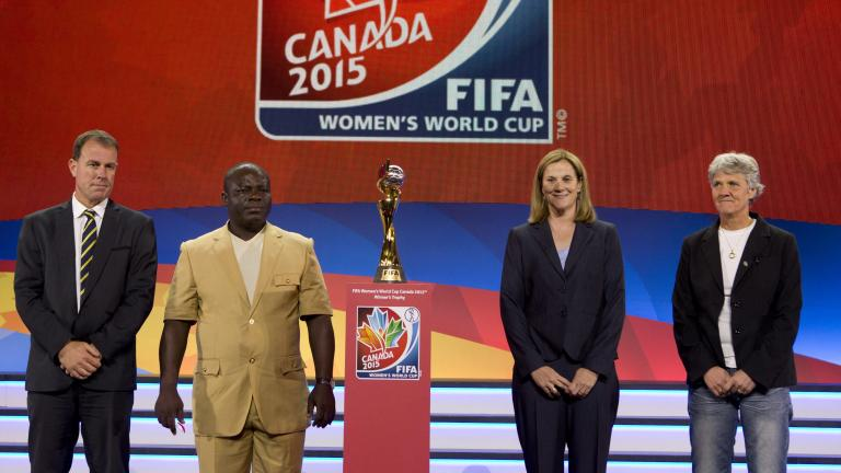 2015 Women's World Cup Draw