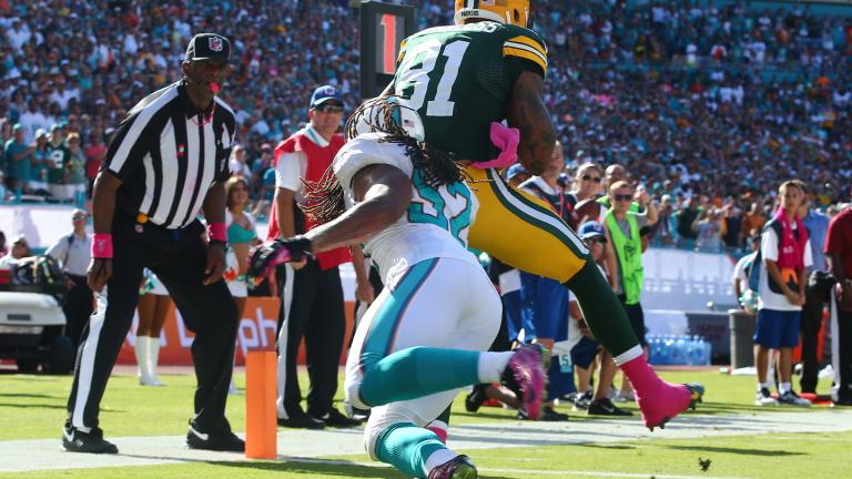 Packers 27, Dolphins 24