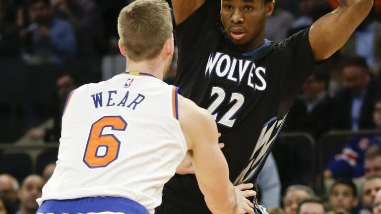 Timberwolves beat Knicks in matchup of league's cellar dwellers