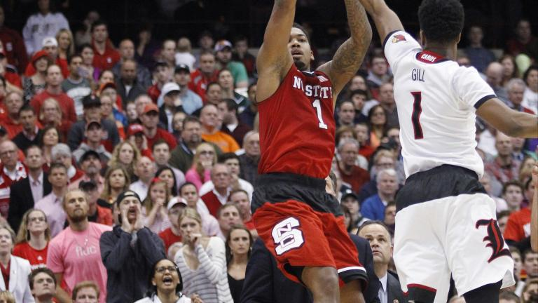 (4) Louisville 75, (8) NC State 65