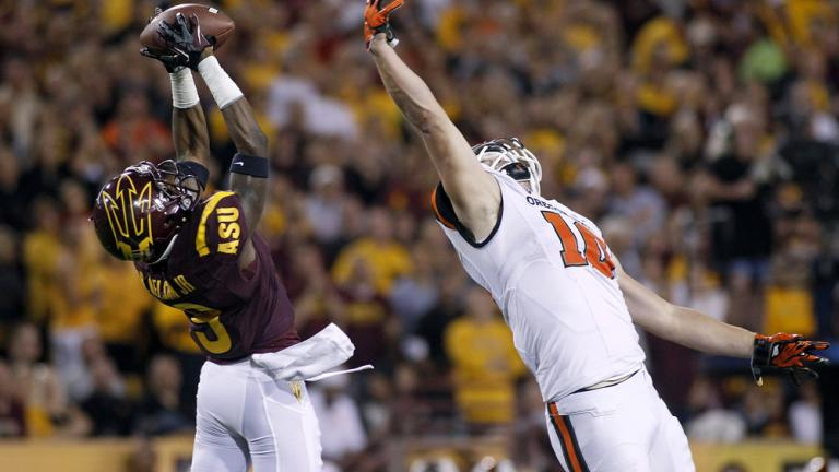 (21) Arizona St. 30, Oregon St. 17
