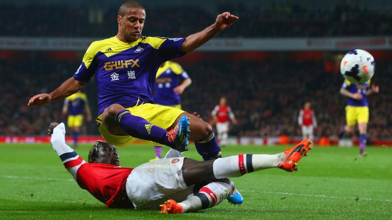 Arsenal 2, Swansea City 0