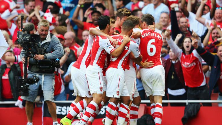 Arsenal 2, Crystal Palace 1