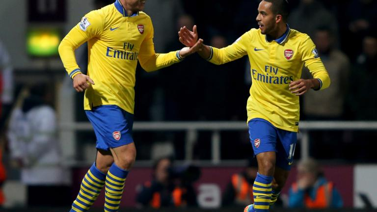 Arsenal 3, West Ham 1