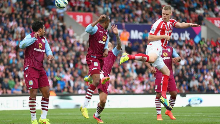 Aston Villa 1, Stoke City 0