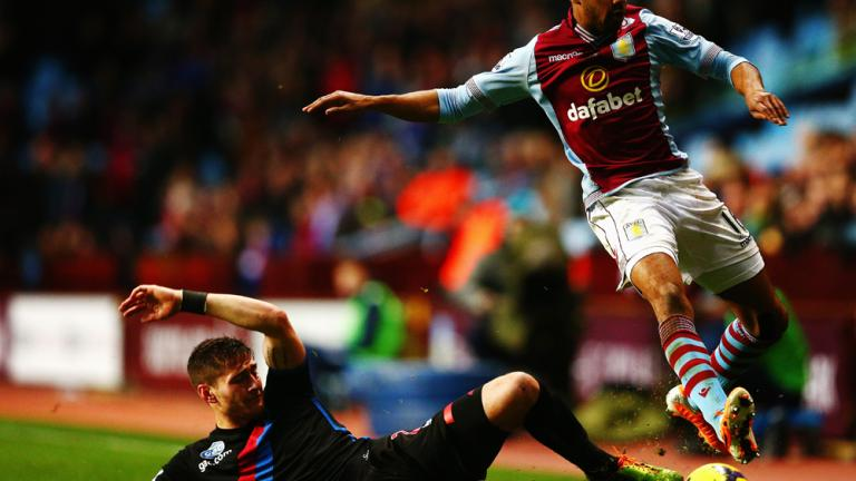 Crystal Palace 1, Aston Villa 0
