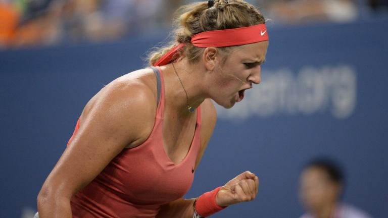 Azarenka shuts out Germany's Dinah Pfizenmaier