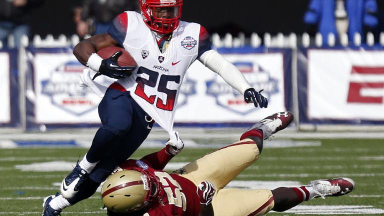 AdvoCare V100 Bowl: Arizona 42, Boston College 19