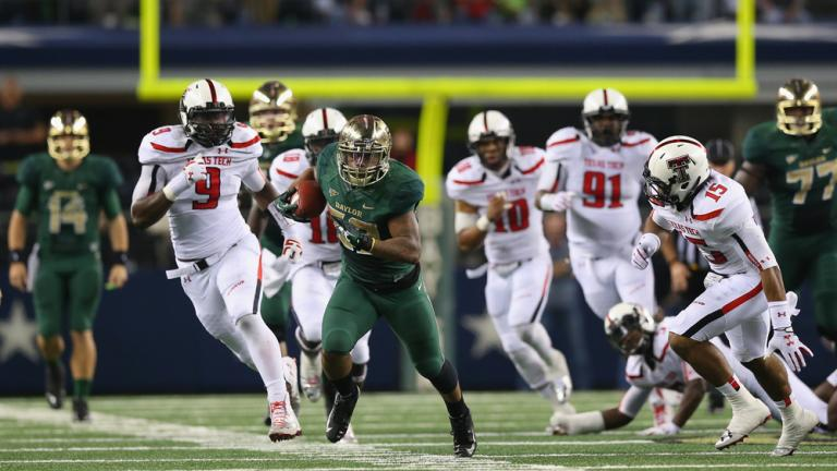 (4) Baylor 63, Texas Tech 34