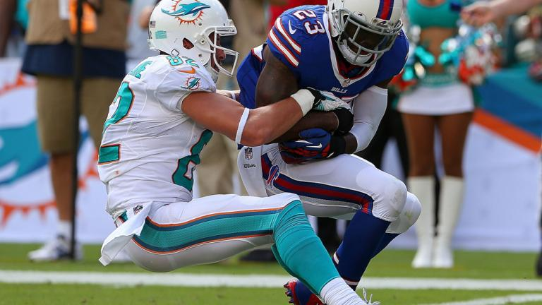 Bills 23, Dolphins 21