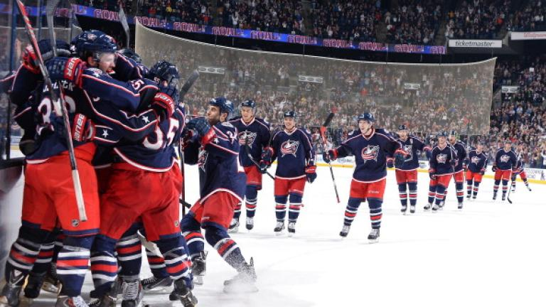 (1) Columbus Blue Jackets: Wild Card East